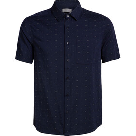 Icebreaker Compass T-shirt Heren, midnight navy